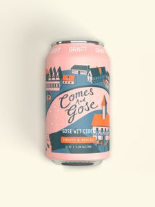 Graft Cider Comes and Gose 4x 12oz Cans - Earth's Basket