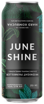 JuneShine Midnight Painkiller 6x 12oz Cans - Earth's Basket