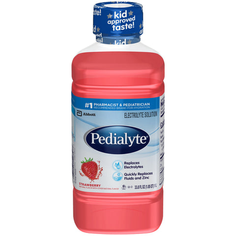Pedialyte Strawberry 500ml Bottle - Earth's Basket