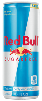 Red Bull Sugar Free 12oz Can - Earth's Basket