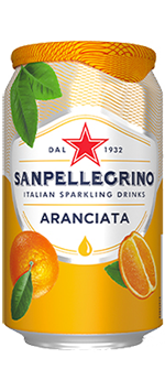 San Pellegrino Aranciata 11.2 Oz Can - Earth's Basket
