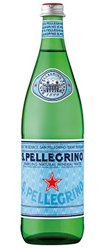 San Pellegrino Sparkling Natural Mineral Water 25.3 fl oz - Earth's Basket