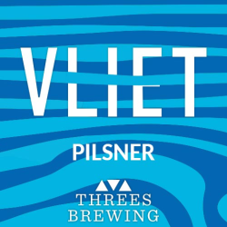 Threes Brewing Vliet Pilsner 4x 16oz Cans - Earth's Basket