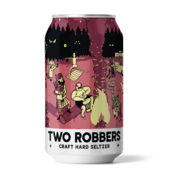 Two Robbers Black Cherry Lemon 12 Oz Can