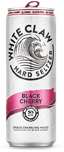 White Claw Black Cherry Hard Seltzer - Earth's Basket