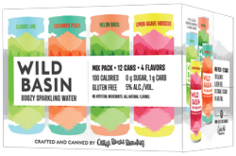 Wild Basin Berry Variety Pack 12x 12oz Cans - Earth's Basket