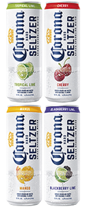 Corona Hard Seltzer Spiked Sparkling Water Variety Pack - Earth's Basket