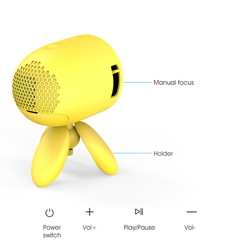 portable-projector-buttons