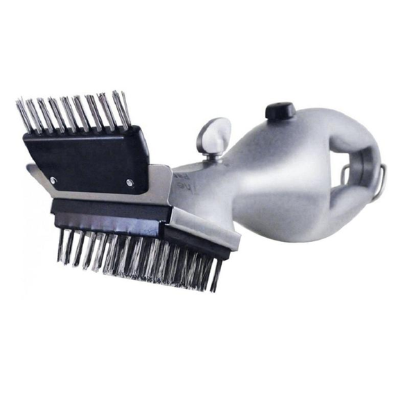 BBQ Stainless Steel Steam Cleaner Brush