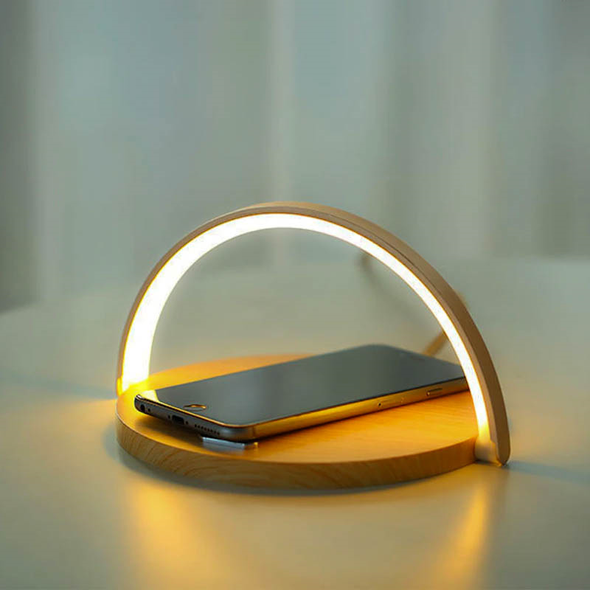 Fast Charging | LED Wireless Mobile Phone Charger