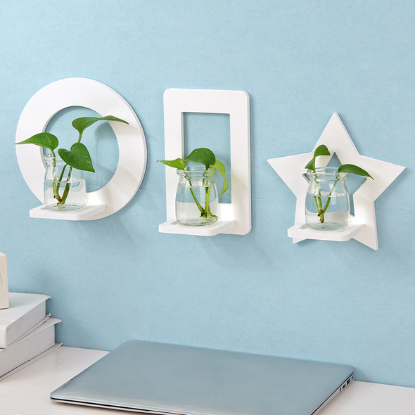 Decorative Wall Shelf for Flowers & Plants