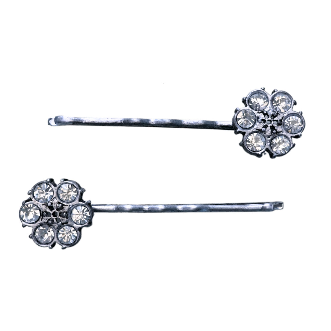 Crystal Flower Bobby Pin