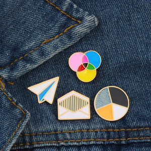 Back to School Enamel Pins