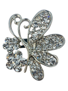 Profile Butterfly Brooch