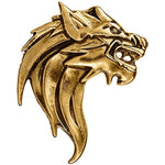 Load image into Gallery viewer, Classic Lion Lapel Pin (Antic Bronze)