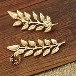Load image into Gallery viewer, Leaves Collar Brooch Pins (Antic Golden)