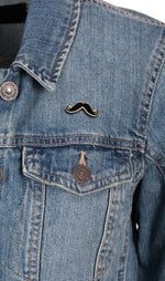 Load image into Gallery viewer, Combo of Sunglasses & Moustache Lapel Pins