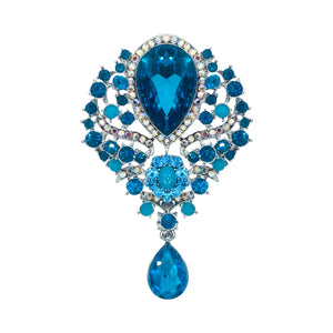 Monarch's Brooch (Blue)