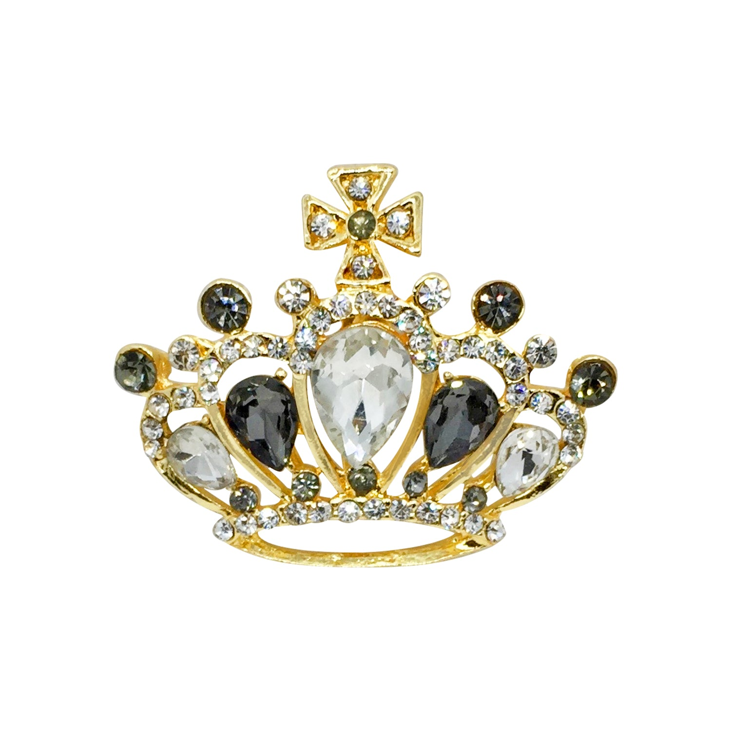 Royal Crown Brooch