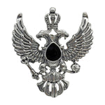 Load image into Gallery viewer, Crowned Eagle Brooch