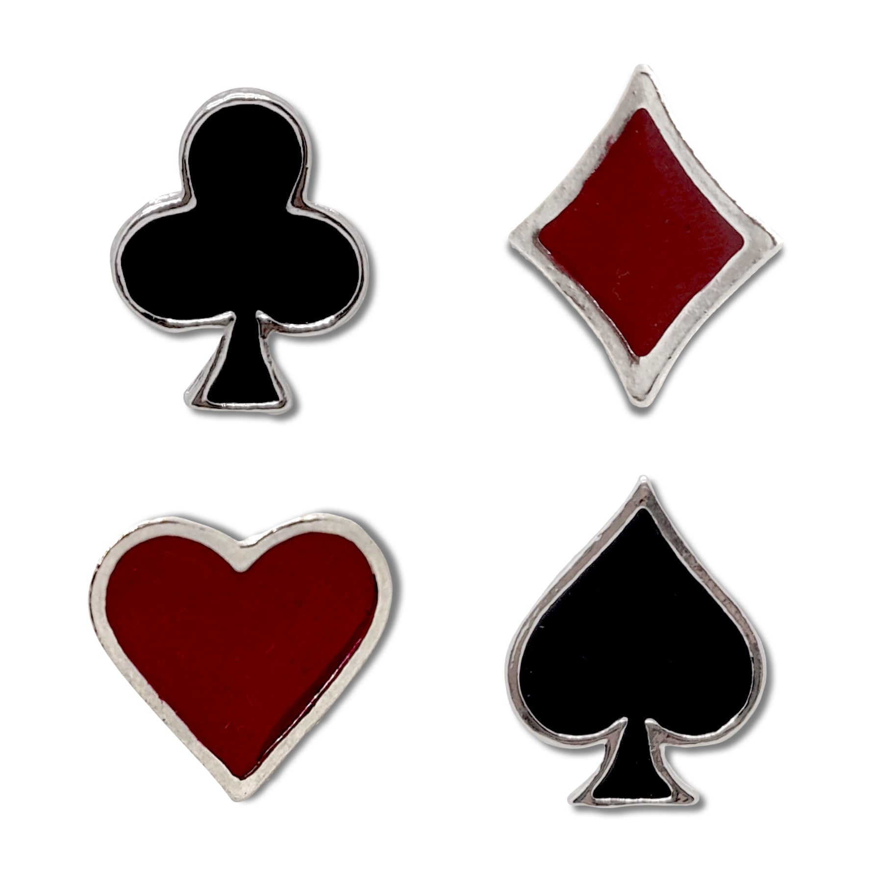 Playing Card Enamel Pins