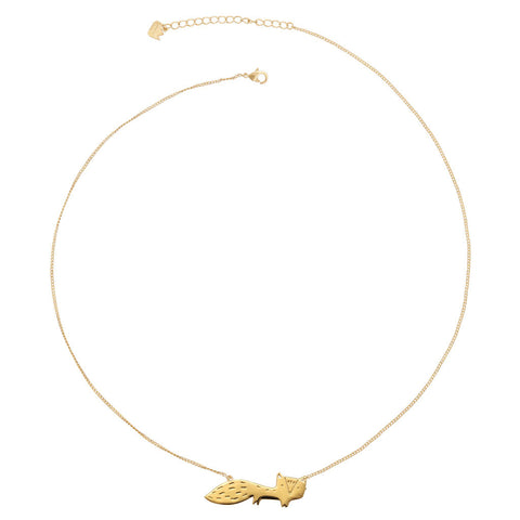 Collier long le petit FOX