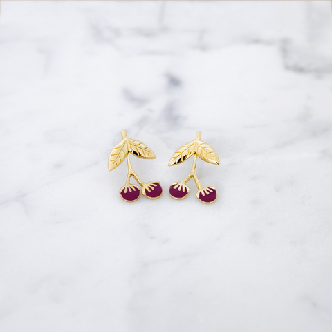 Boucles d'oreilles  Winter Berries Goji