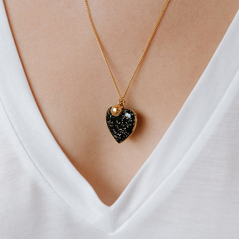 Locket Coeur Cosmique