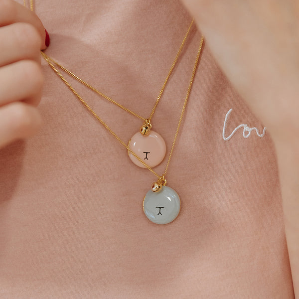 Locket Museau Rose