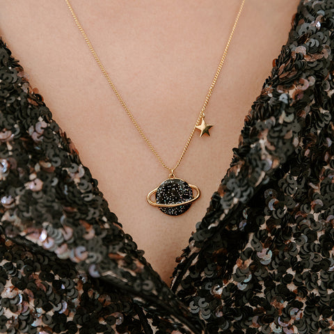 Collier long Cosmique
