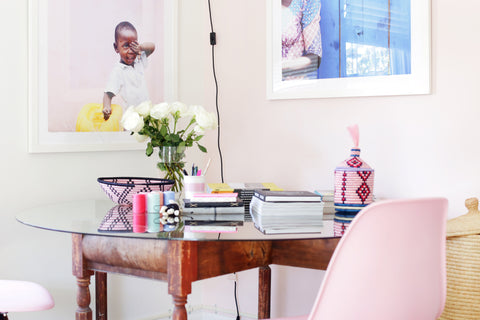 Indigo Africa Desk, Ethical Collection London