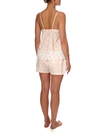 Eight Hour Studio - Organic Cotton Camisole - Blush