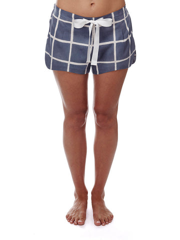 Eight Hour Studio - Organic Cotton Shorts - Naughts & Crosses