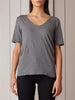 Kowtow - Organic Cotton V T-shirt - Grey