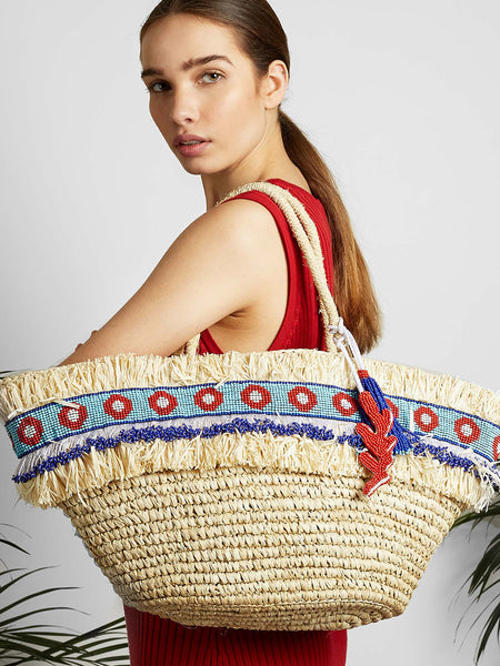 Made by Wave - Long Tahiti Bag - Blue and Red