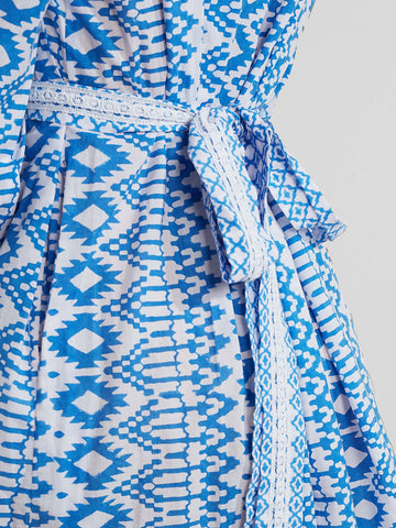 Pink City - Prairie Nomad Dress - Blue