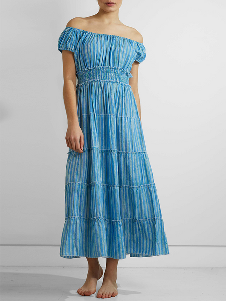 Pink City - Rah Rah Dress - Hockney Stripe