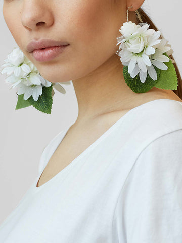 Gung Ho - Fresh Earrings - White