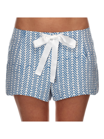 Eight Hour Studio  - Organic Cotton Shorts - Blue