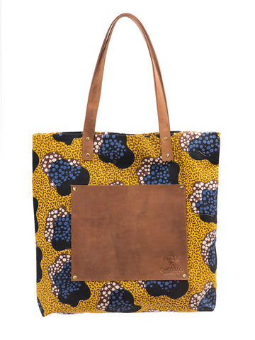 O My Bag - Afriek Lou's Big Bag - Yellow