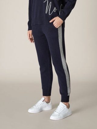 Made by Riley - Be Luxe Track Pant - Navy