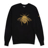 Gung Ho - Signature Embroidered Bee Sweatshirt - Black