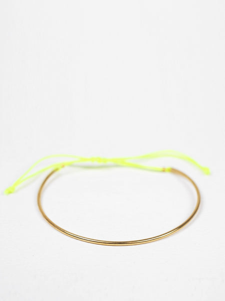 Bohemia - Gold Luna Bracelet - Yellow
