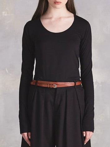 Kowtow - Organic Cotton Long Sleeve Top - Black