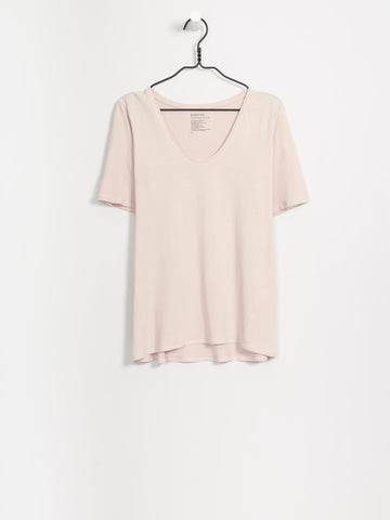 Kowtow - Organic Cotton V T-shirt - Blush