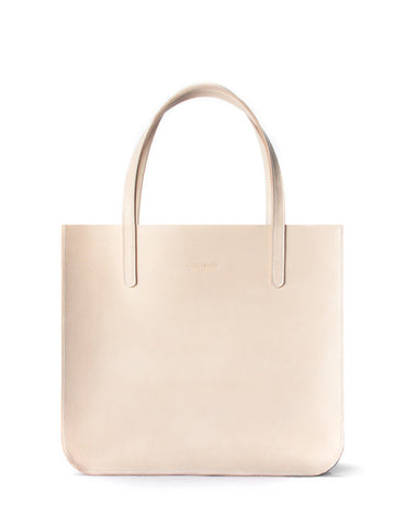 Cuero & Mor - Leather Tote - Natural