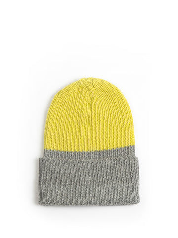 Emilime - Pure Alpaca Yellow Doji Hat