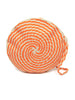 Guanabana - Round Wayuu Clutch - Orange