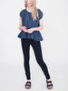 Beaumont Organic - Belle Top - Navy Denim