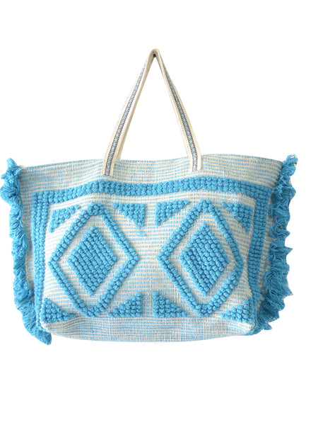 Guadalupe - Ibiza Ocean Tote - Turquoise